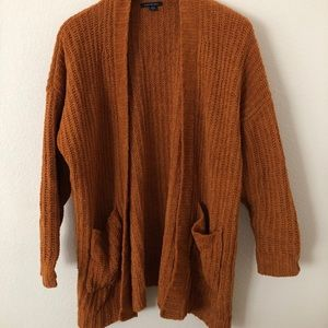 Oversized American Eagle Chenille Sweater XS/S